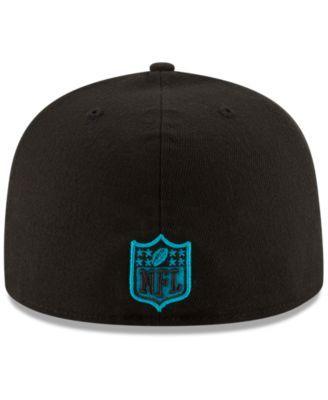 409042bbf23 New Era Carolina Panthers Team Basic 59FIFTY Fitted Cap - Black 7 ...