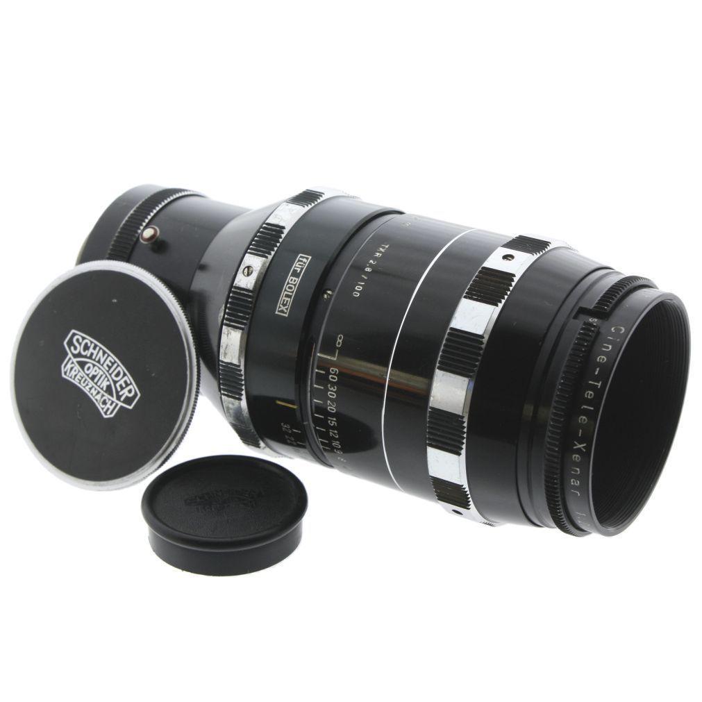 Schneider Cine Tele Xenar 2.8 100 CMount Objektiv lens