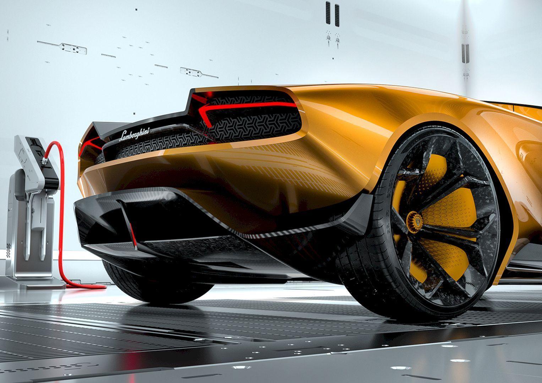 Go Beyond With Lamborghini Belador Concept By Sergey Dvornytskyy
