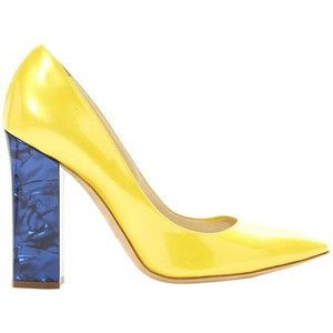 Pre-owned - Leather heels Pollini Ng4Yv