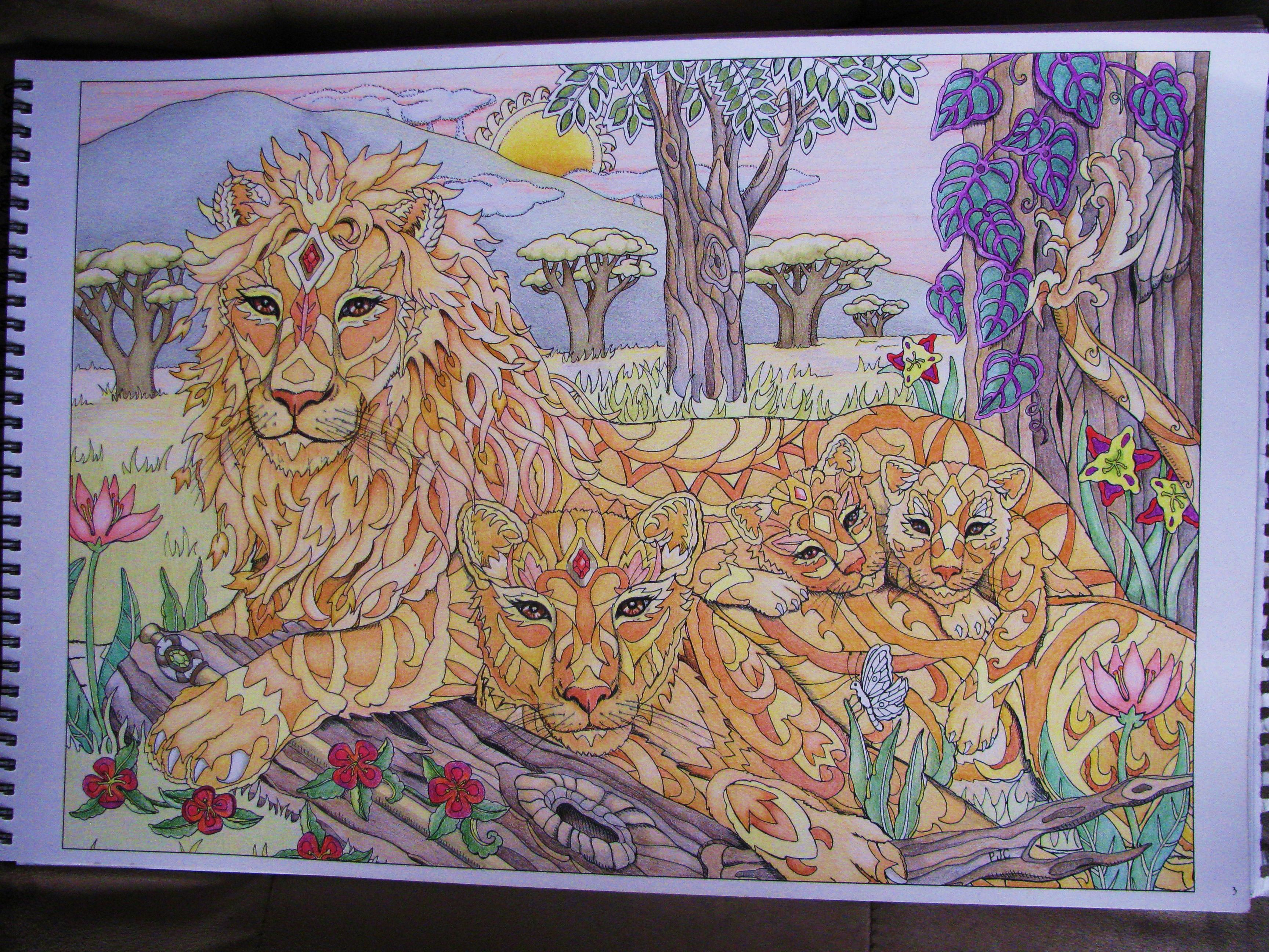 From The Coloring Book Color Me 2 By Pam Smart Books Can Be Obtained At Pjcsmrtgmailcom
