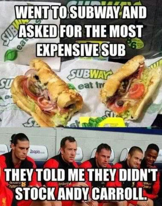 andy carroll | Andy carroll, Funny soccer memes, Soccer memes