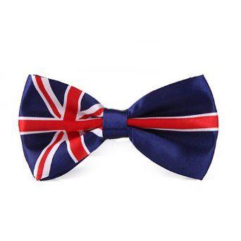 HDE Bowtie - One Size - British Flag HDE. $3.26