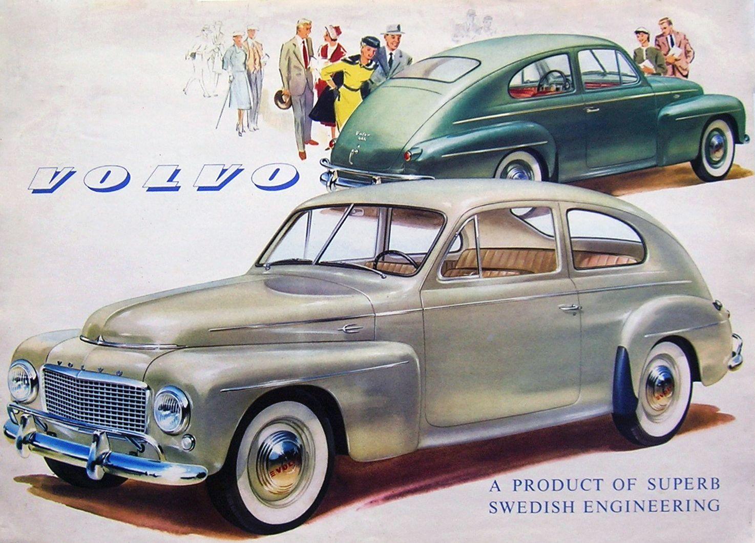 Volvo PV444 - brochure | Volvo PV444 | Pinterest | Volvo, Brochures ...