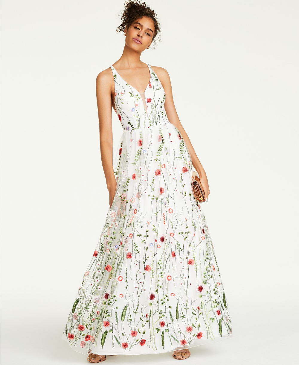City Studios Juniors Embroidered Strappy Back Gown Created For Macy S Reviews Dresses In 2020 Pretty Dresses Pretty Dresses For Women Formal Dresses For Women,Sophia Tolli Plus Size Wedding Dresses