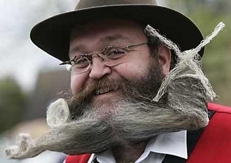 Concours Insolites Barbes Et Moustaches Crazy Beard Mustache Styles Beard Humor