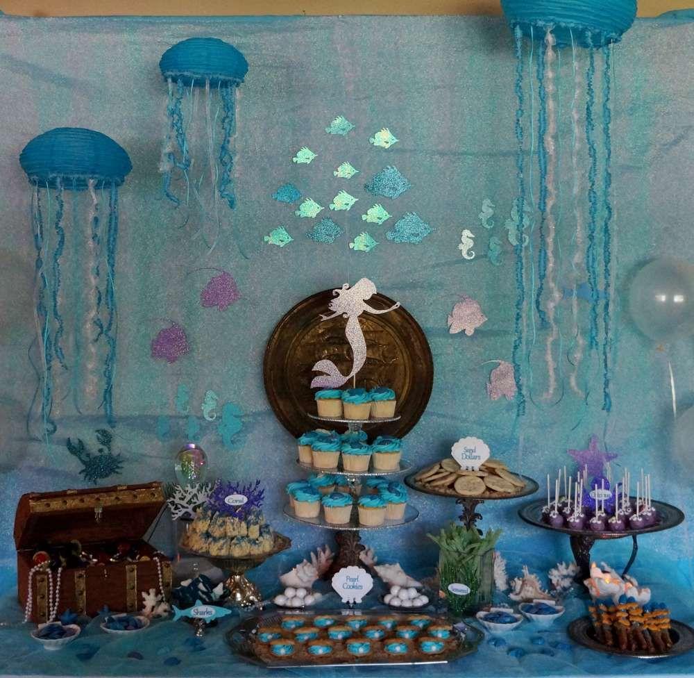Under the Sea Mermaid Birthday Party Ideas