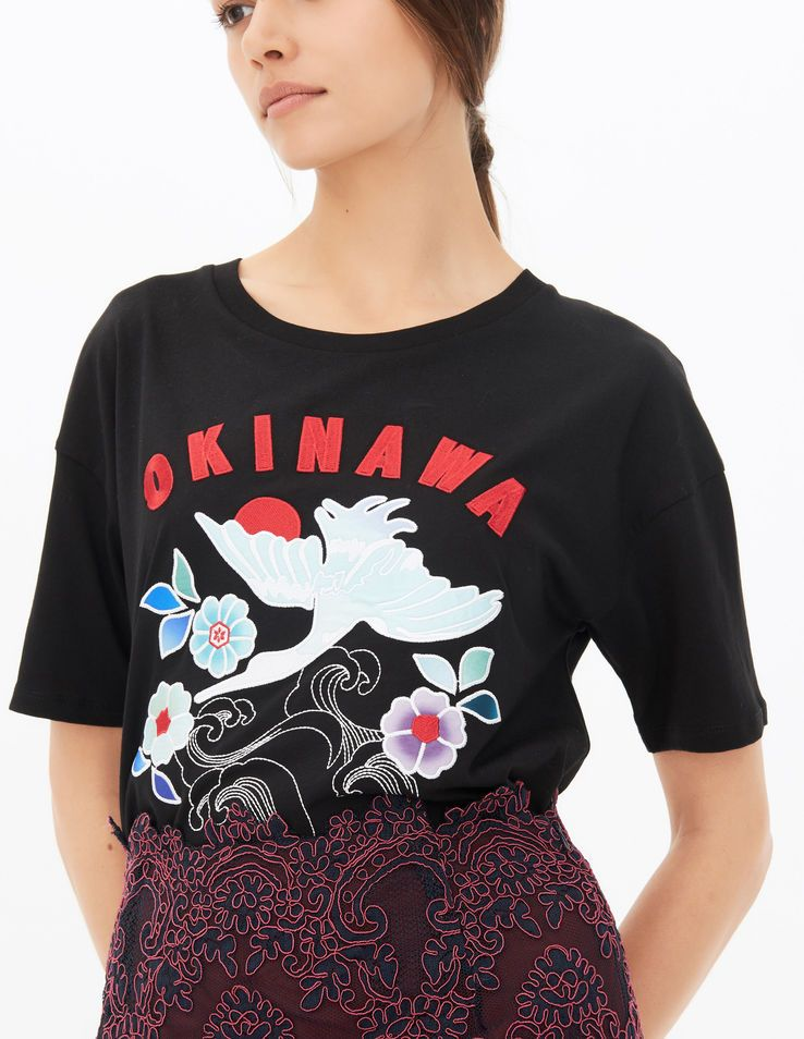 cd60cd76912 T-Shirt Okinawa - T-shirts - Sandro Paris | 時裝 | Shirts, Sandro, T ...