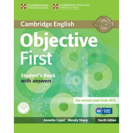 Objective First Student S Book With Answers Walmart Com Libros Para Aprender Ingles Libros Para Aprender Libro Ingles