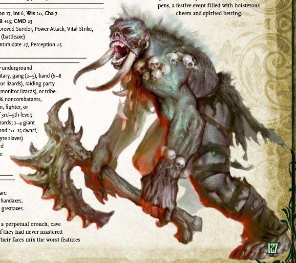 Cave giant | Fantasy/Pathfinder | Pinterest | Cave, Grim reaper ...