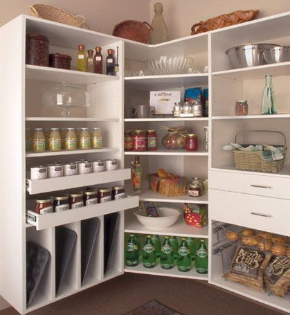 Pantry Shelves Maximize Every Inch This Custom Walk In