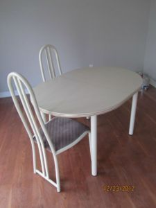 Free Table 4 Chairs