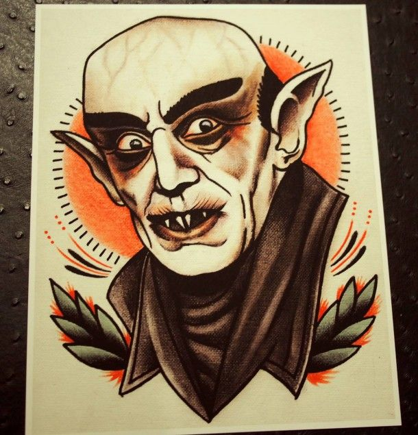 Horror Movies Characters In Tattoo Style By Quyen Dinh Horror