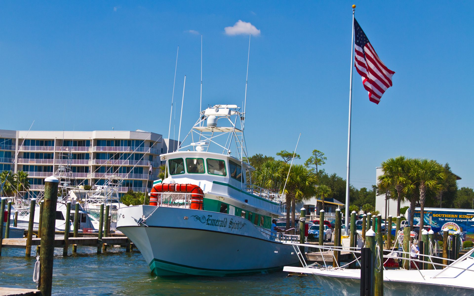 Action Charter Service S The Emerald Spirit In Orange Beach At Sportsman Marina