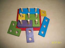 Resultado de imagen para juegos didácticos en madera