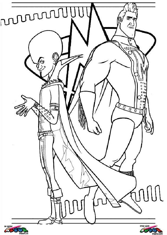 Megamind | Coloring book | Pinterest | Coloring books