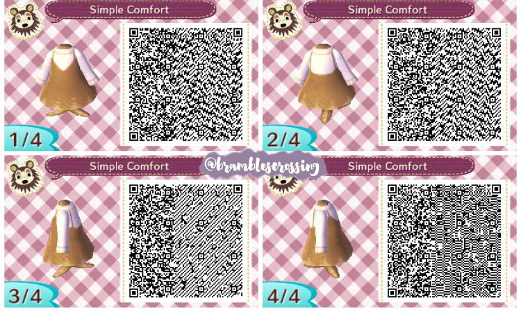 From Brambles Crossing Tumblr Animal Crossing Qr Qr Codes