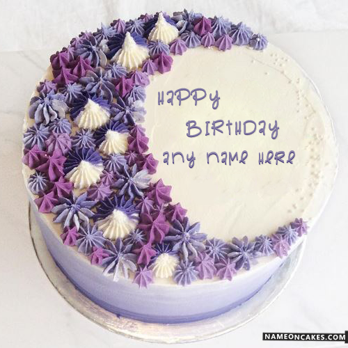 Birthday Cake With Name Edit Latestwishes In