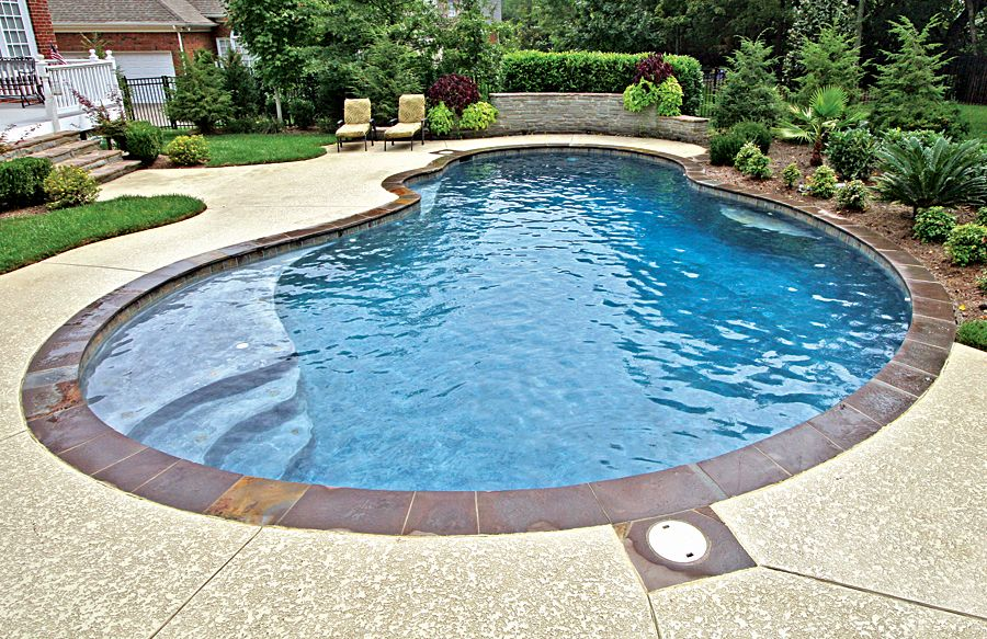 Free Form Pool Ideas Shapes And Pictures Blue Haven Backyard Pool Blue Haven Pools Luxury Swimming Pools