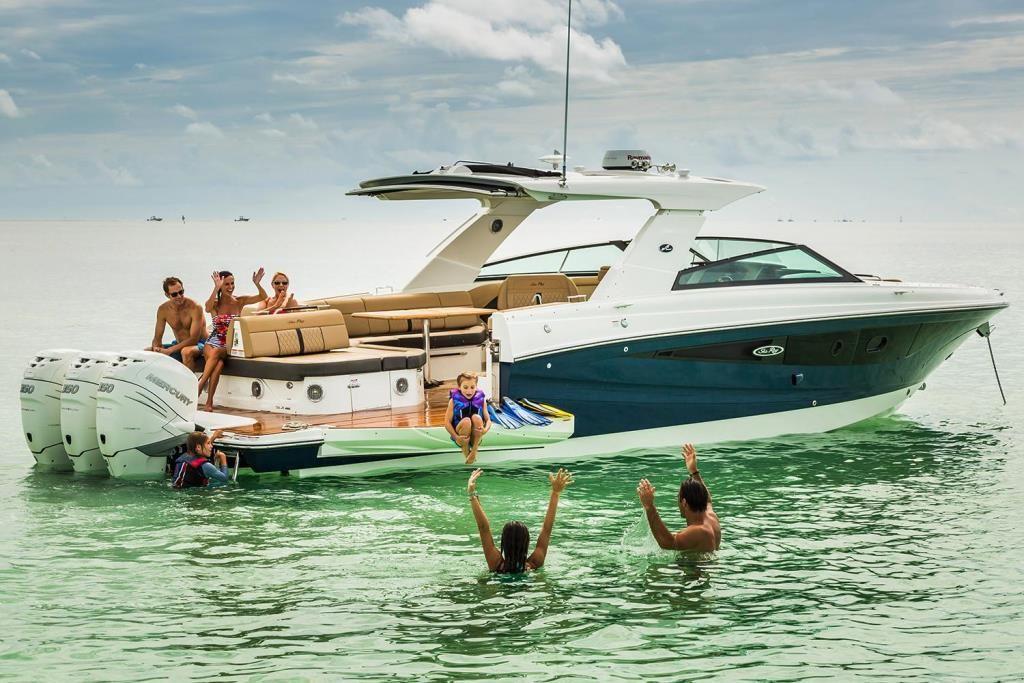 2020 Sea Ray SLX 400 OB Contact Your Local MarineMax Store