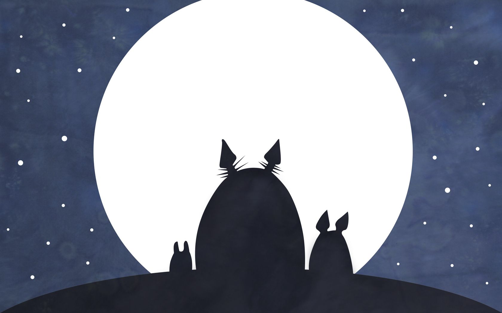 Studio Ghibli Neighbor Totoro Series Ova Character Wallpaper