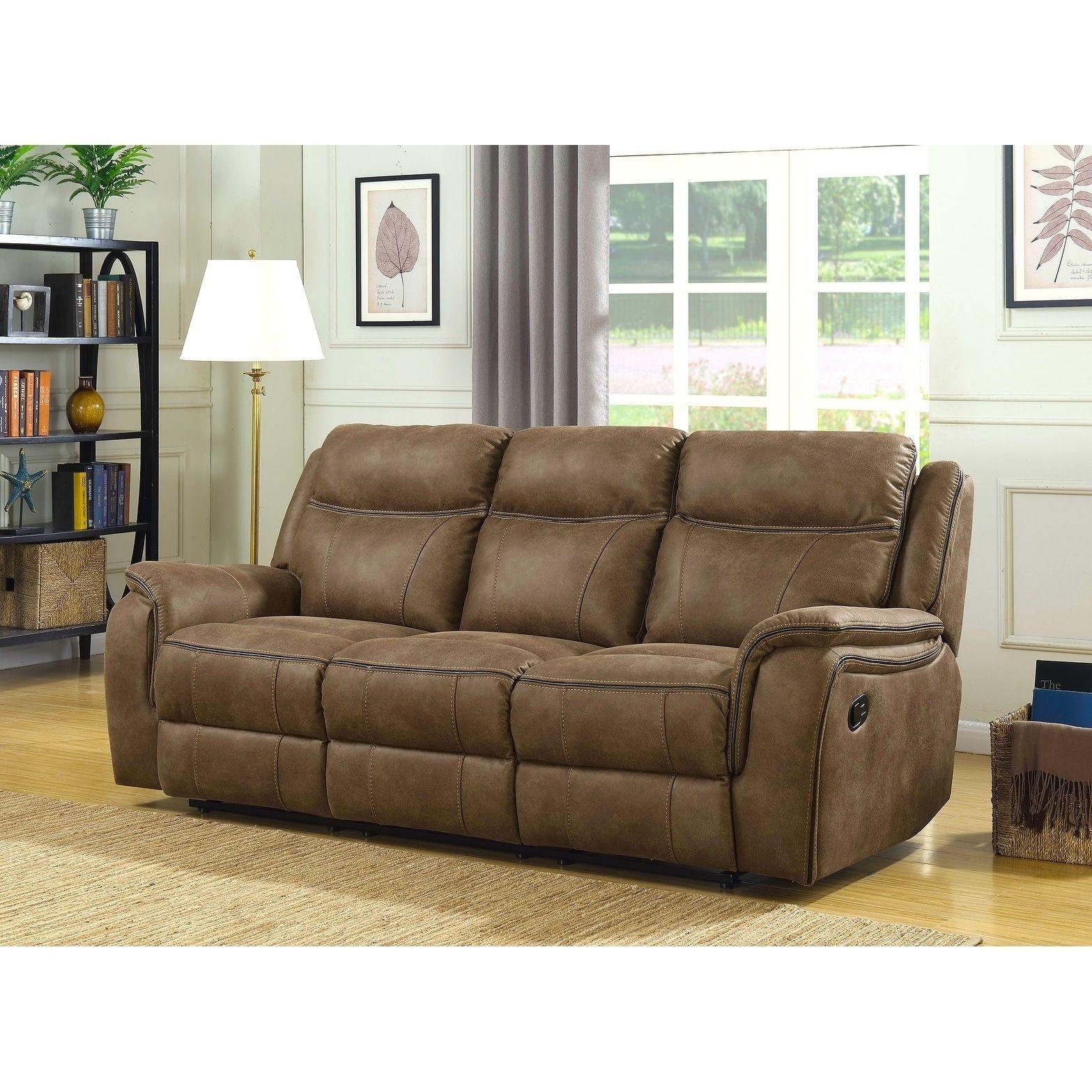 Astonishing Global Morrisofa Hudson Dual Lay Flat Reclining Sofa With Machost Co Dining Chair Design Ideas Machostcouk