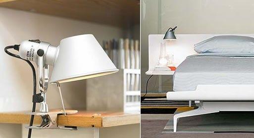 Tolomeo Clip Spot Lamp Lamp Clip Lamp Clip Lights