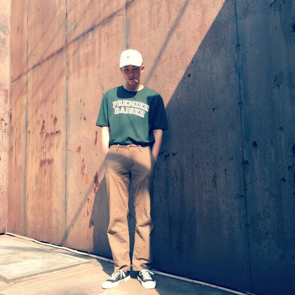 "BTS Tweet - Rap Mon (selca) 150610 -- #김데일리 -- [TRANS] ""#KimDaily "" -- cr…"