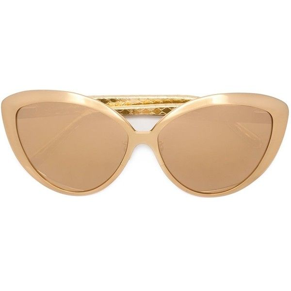 769109b1cce Linda Farrow oversized cat eye sunglasses 1020 liked