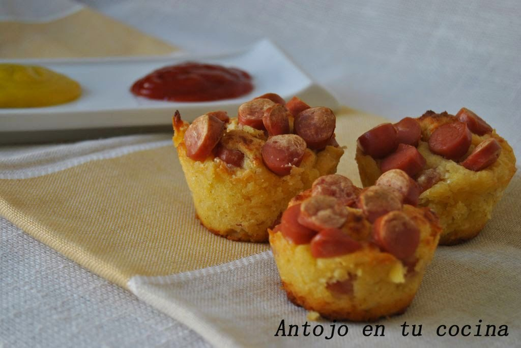 Corn dog muffins corn dog muffins english and spanish recipe forumfinder Image collections