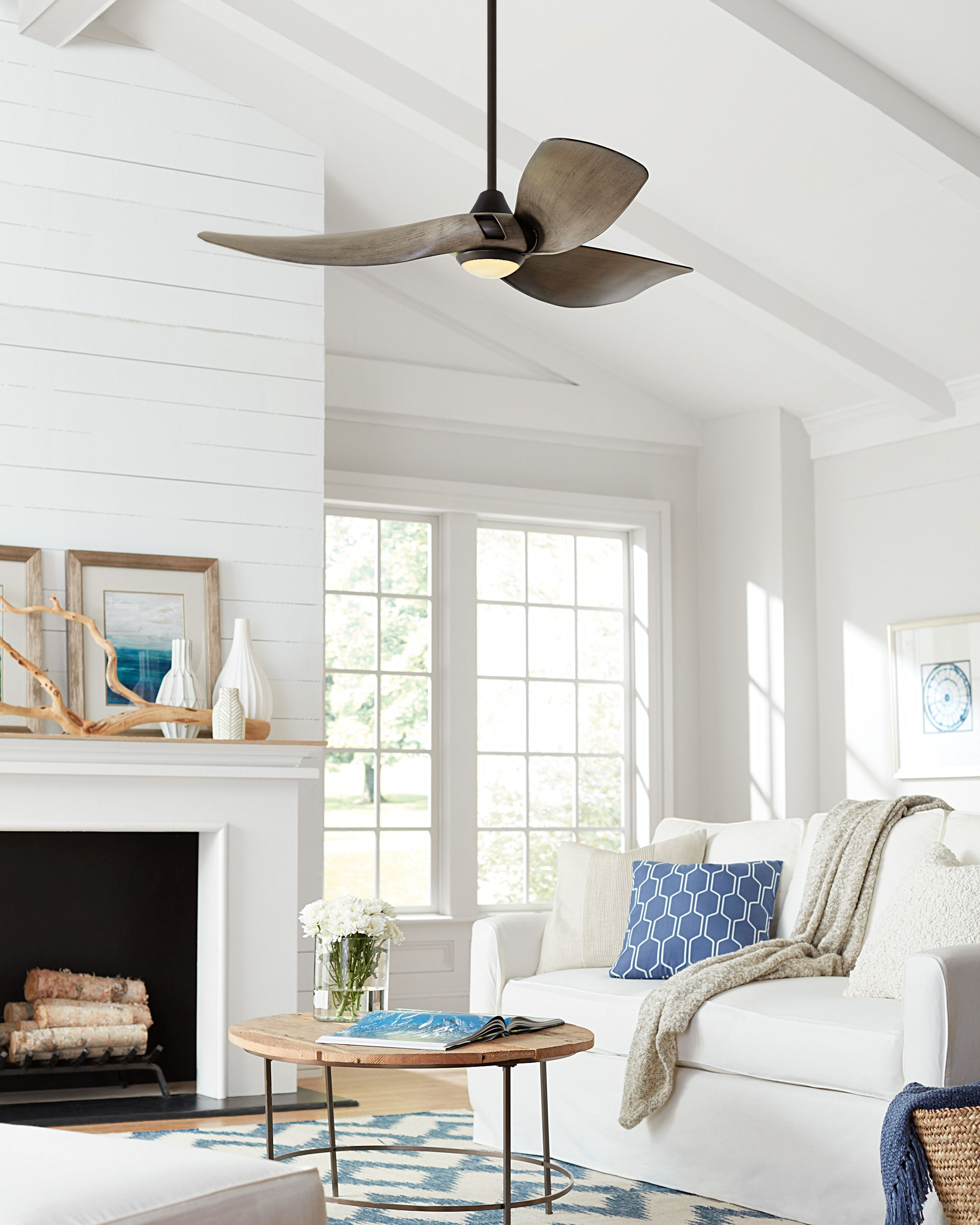 Ceiling Fan Inspiration From Your Local Lighting Showroom Lightingdesign Ligh Vaulted Ceiling Living Room Living Room Ceiling Fan Ceiling Fan Bedroom