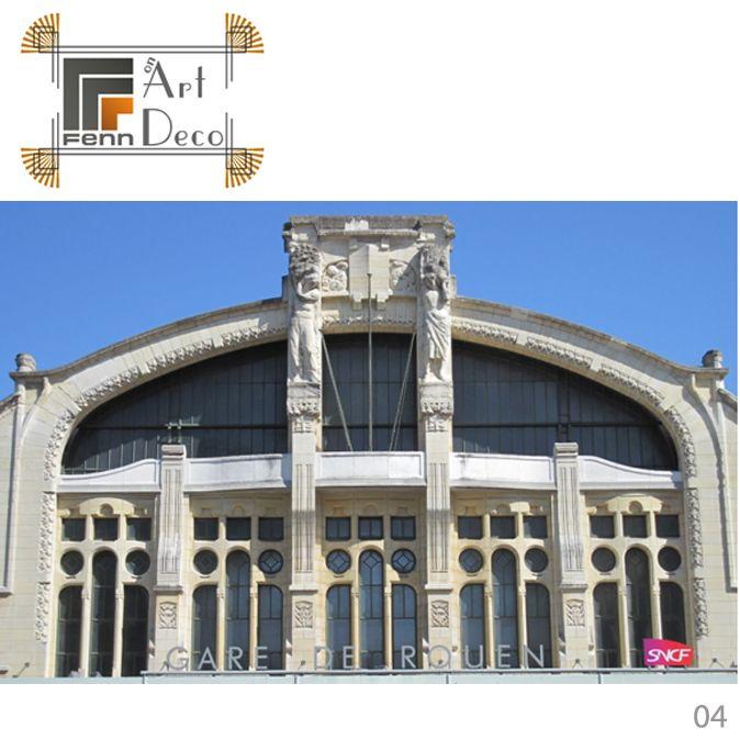 fenn top 5 picks of architecture and art deco our no 4 pick la gare de rouen france opened in. Black Bedroom Furniture Sets. Home Design Ideas