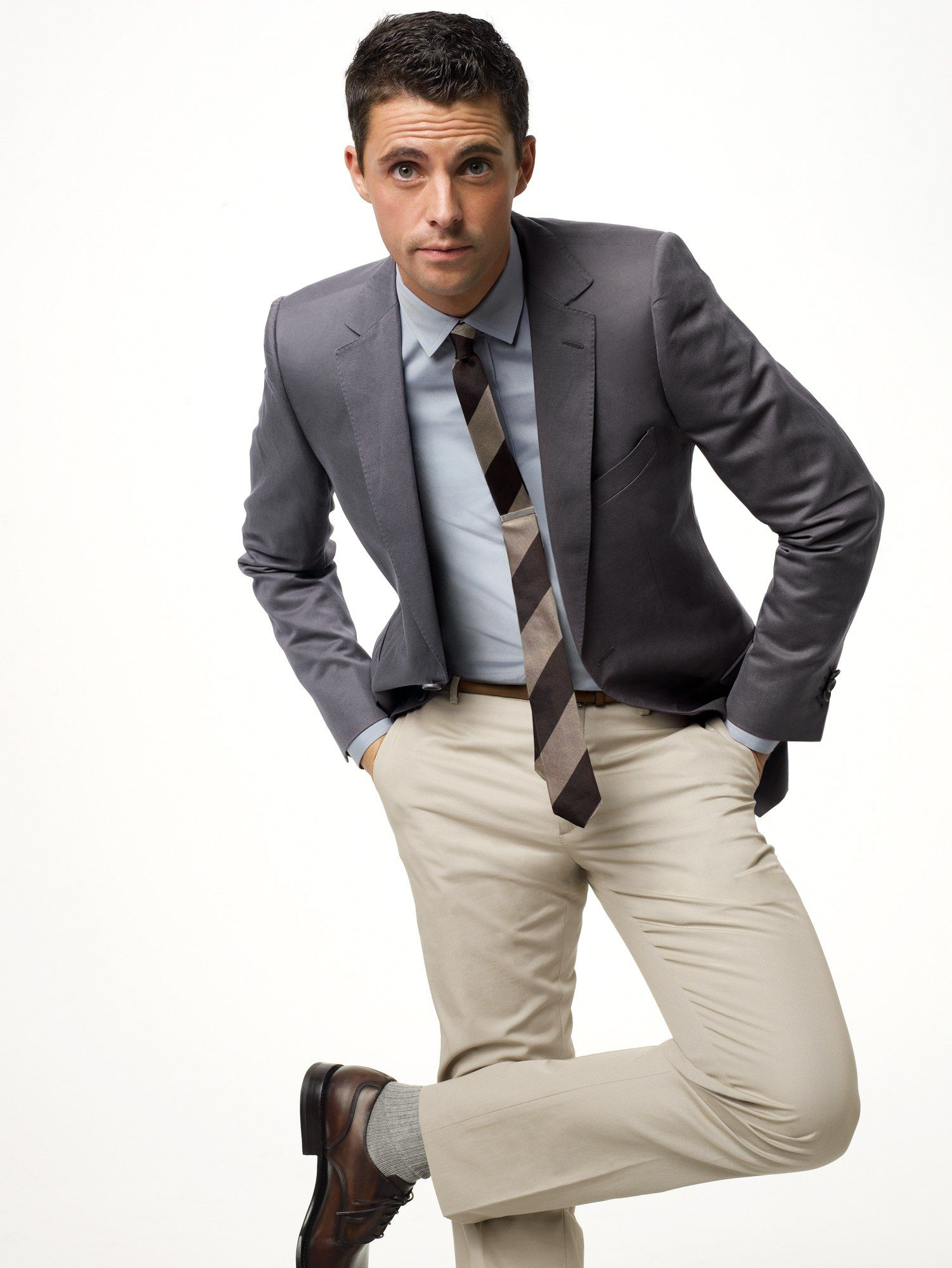 What to Wear Today April Grey sport coat, What to wear