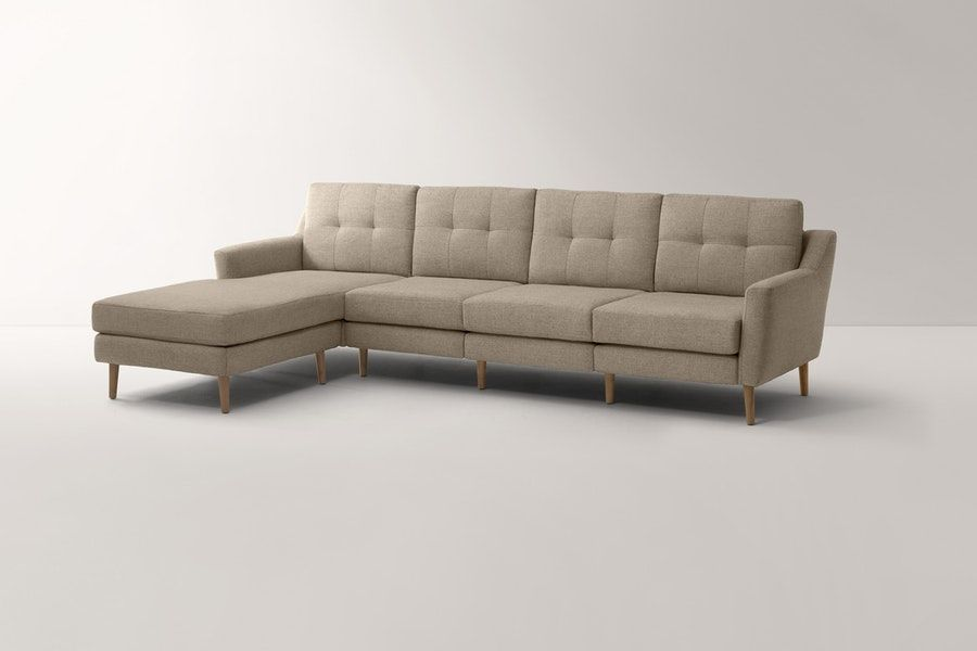 Excellent The Original King Sofa With Chaise Long Sectional Sofas Customarchery Wood Chair Design Ideas Customarcherynet