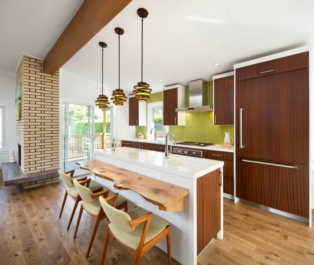 Rénovation maison dans un style rétro des années 70 | Design rétro ...