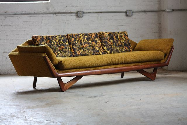 Undeniable Adrian Pearsall Mid Century Modern Sofa and Lounge