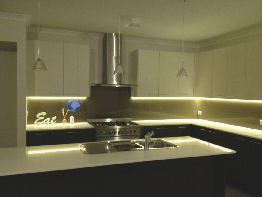 Led Strip Kitchen Lights Under Cabinet Kitchen Design