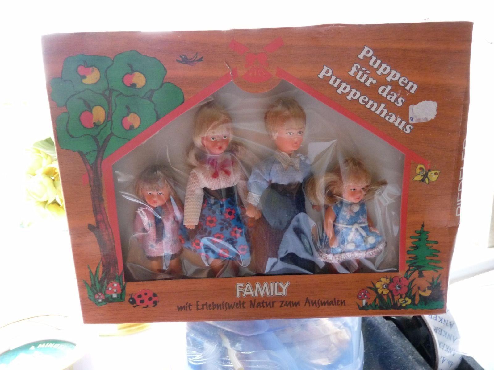 VINTAGE DOLLS HOUSE FAMILY BOX SET OF DOLLS | eBay