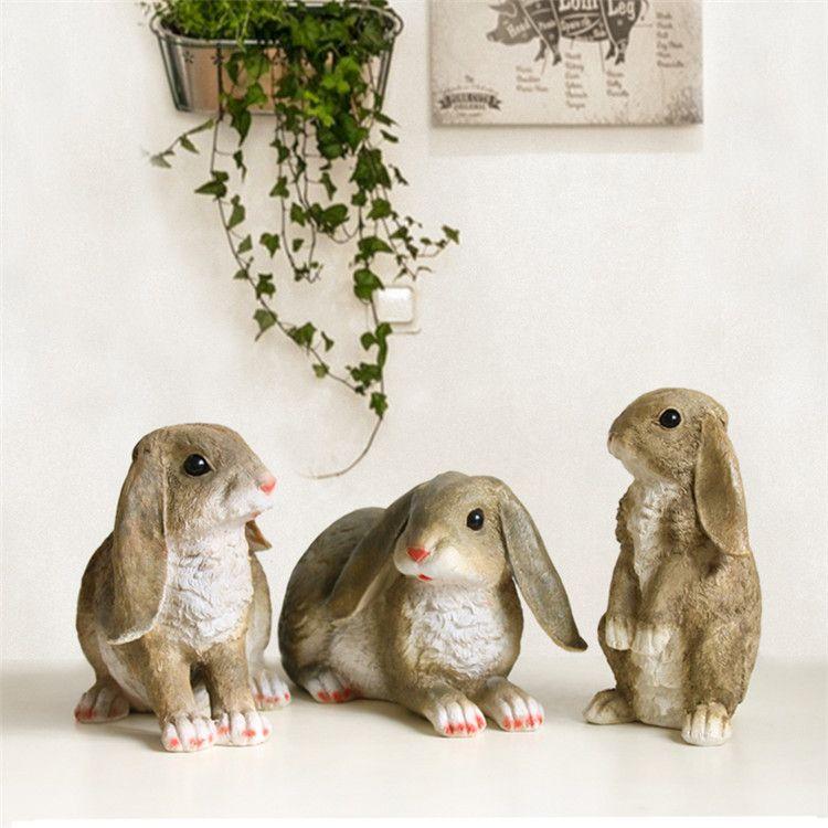 Bunny Garden Decor Figurines Price: 50.98 U0026 FREE Shipping #hashtag4