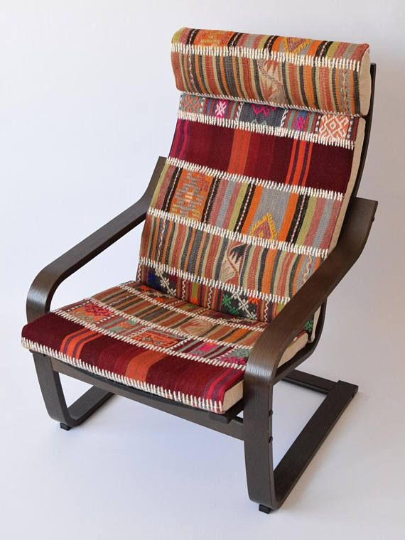 Cool Ikea Poang Chair Cushion Patchwork Kilim Rug Cover 001 Download Free Architecture Designs Rallybritishbridgeorg