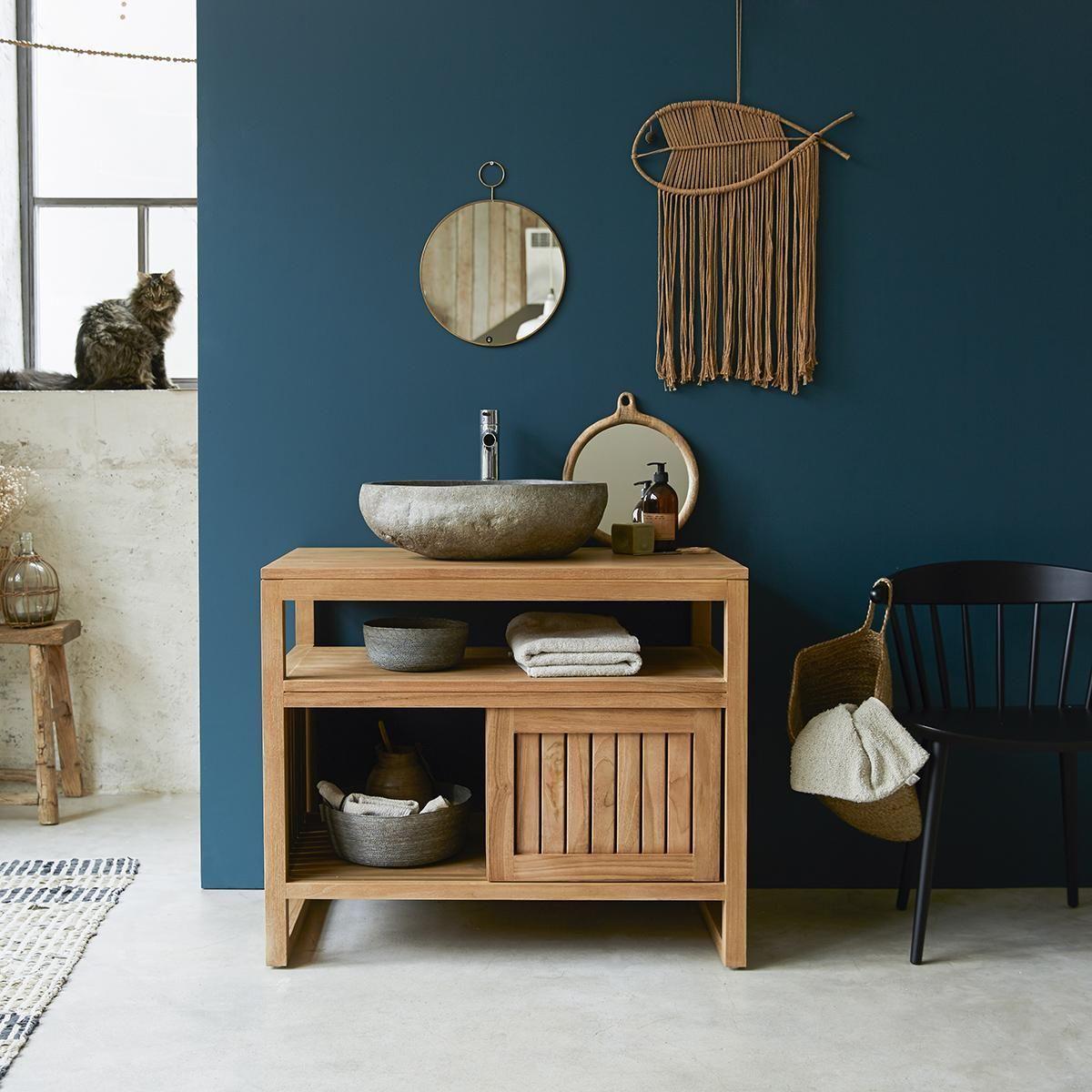 Solid Teak Wood Vanity Cabinet Wash Stand Modern Design Bathroom Furniture In 2020 With Images Bathroom Furniture Design Teak Furniture Timber Vanity
