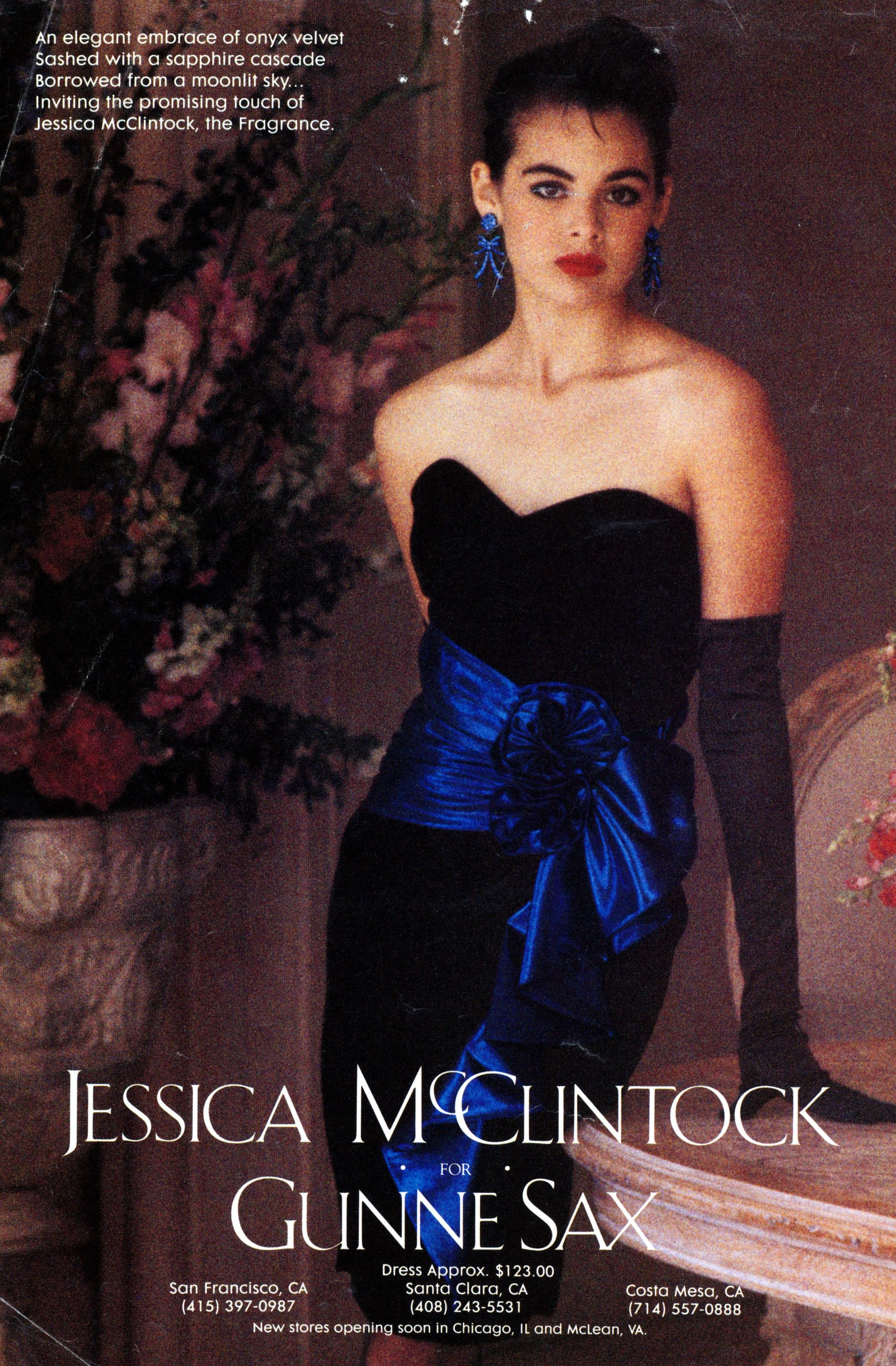 Gunne Sax Prom Dress - Seventeen Magazine May 1984 | Seventeen ...