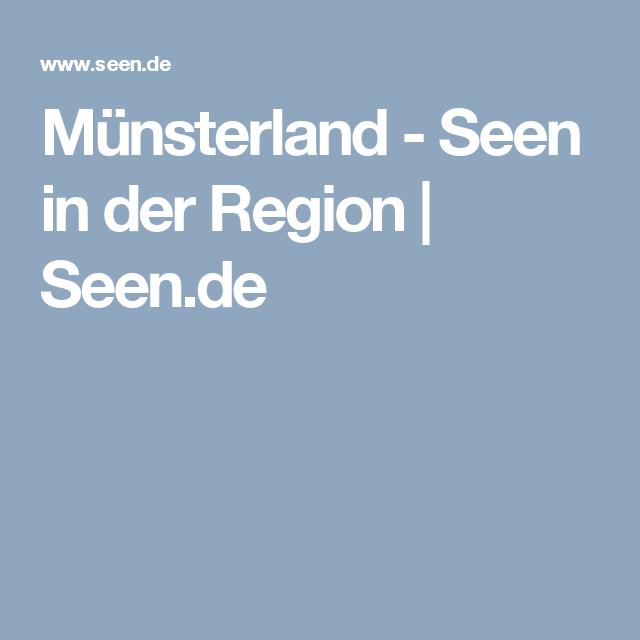 Münsterland - Seen in der Region | Seen.de