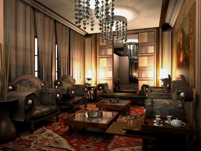 Arab majlis Middle eastern design Pinterest Architecture