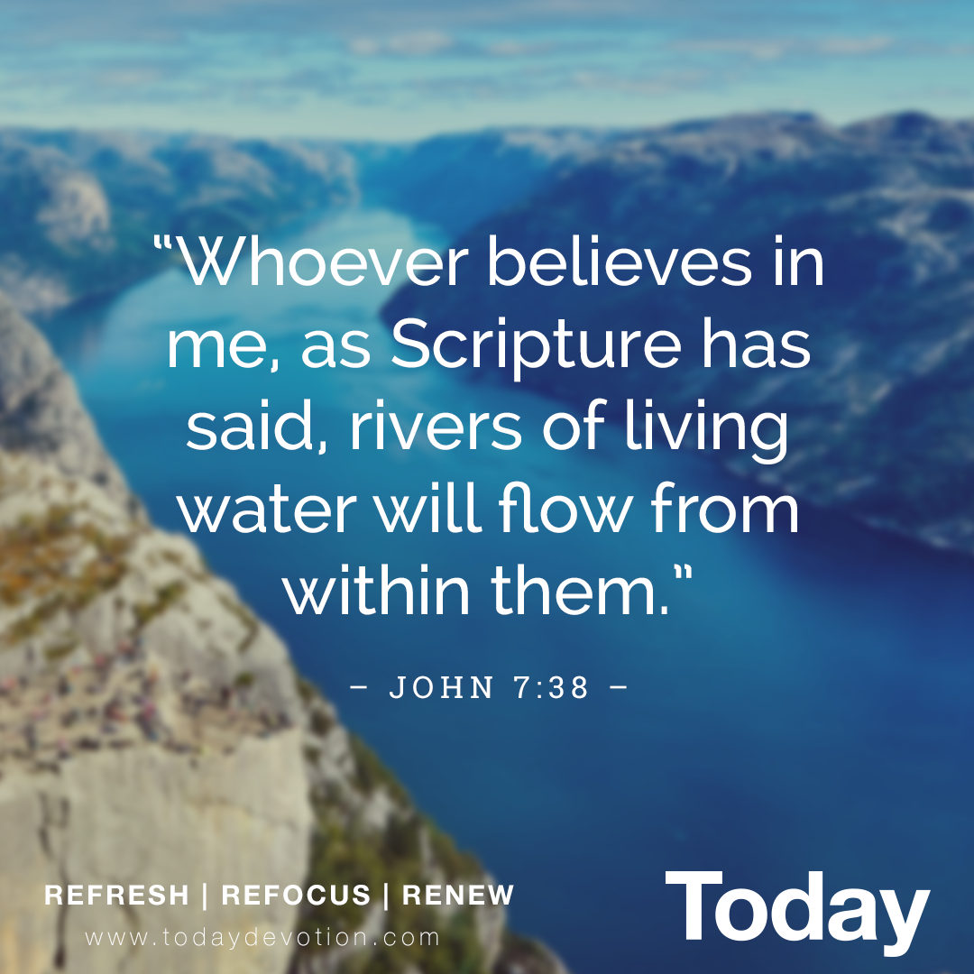 THE HOLY SPIRIT AS WATER
