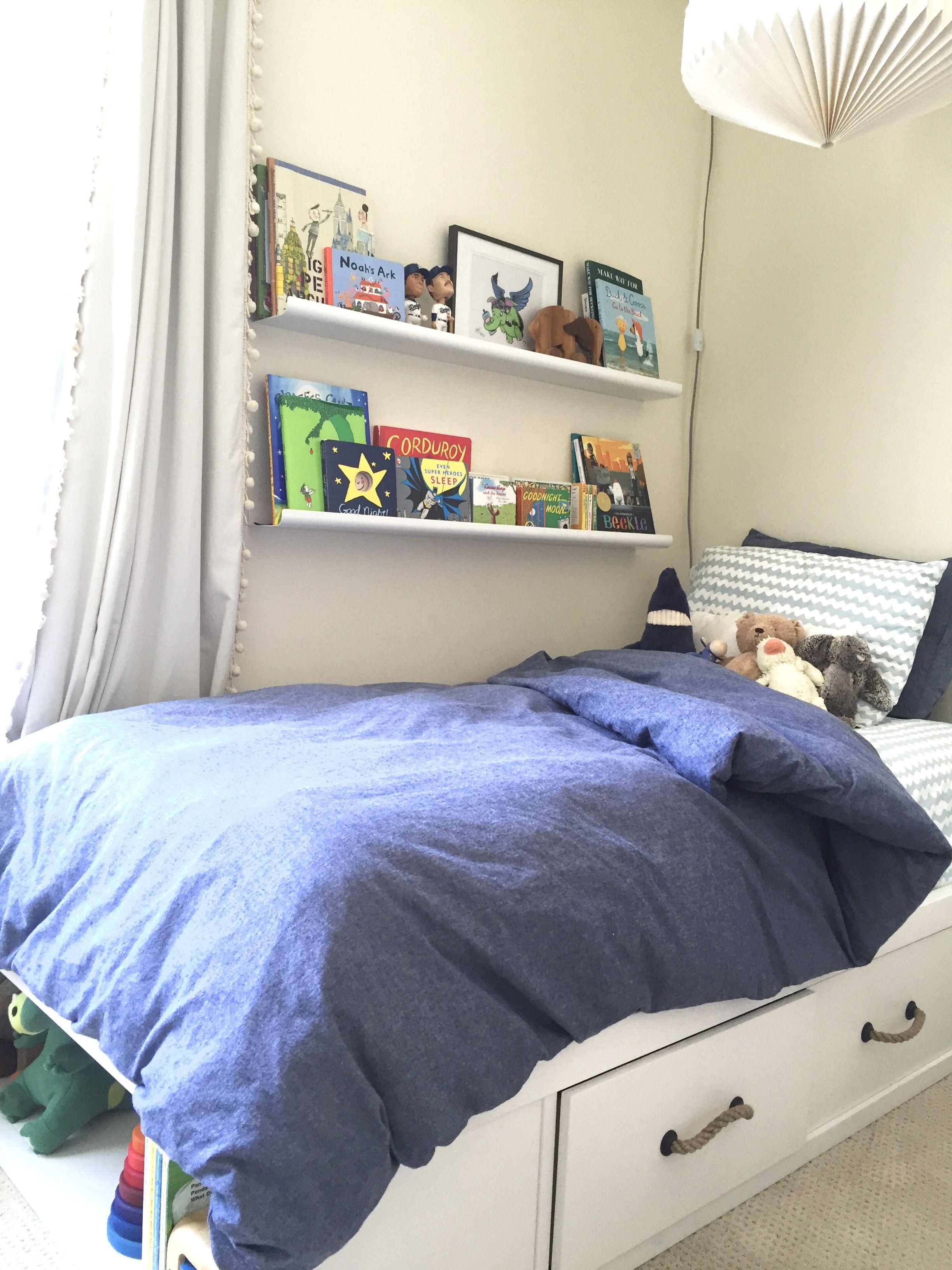 W's first big boy bed! ericapaigedesign Big boys