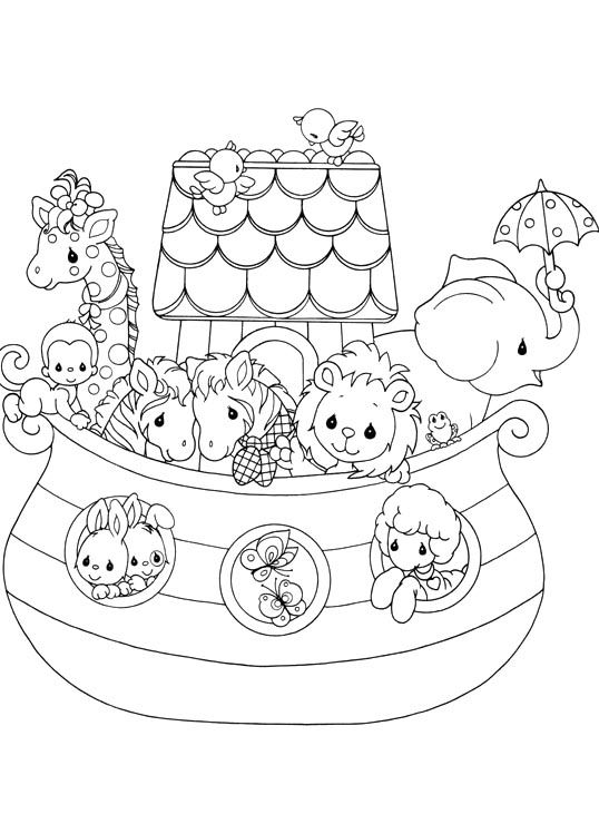 Precious Moments And Her Friends Funny Coloring Pages | Embroidery ...