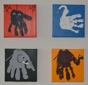 Kids Hands/Animals