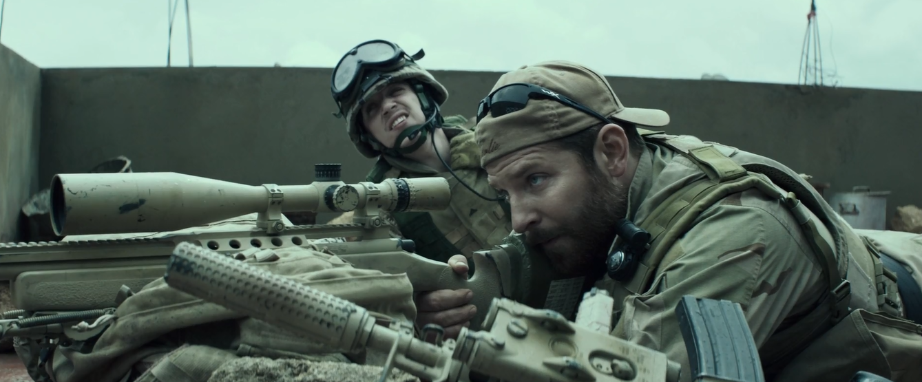 Opening scene from movie  American Sniper  Awesome movie
