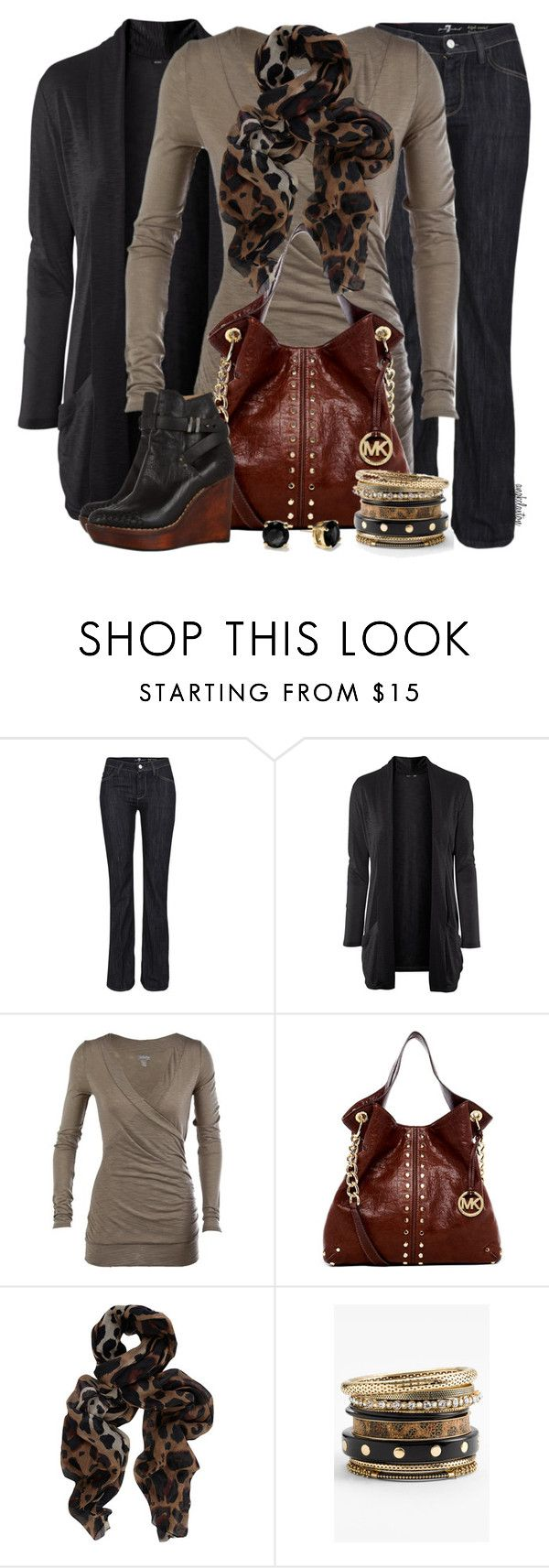 """School Days #170"" by angkclaxton ❤ liked on Polyvore featuring 7 For All Mankind, H&M, MICHAEL Michael Kors, Dorothy Perkins, ASAP, Natasha and Kate Spade"